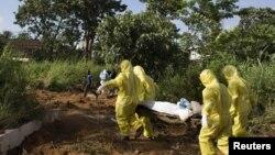 Un enterrement au Libéria (Reuters)