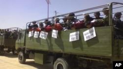 """中国警察镇压一些西藏僧侣,指控他们""""聚众冲击国家机关""""(资料图片)"""