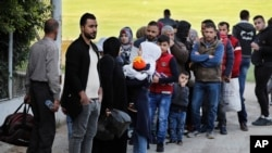 在黎巴嫩的叙利亚难民(资料图)