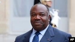 Le président gabonais Ali Bongo Ondimba, 10 novembre 2015.