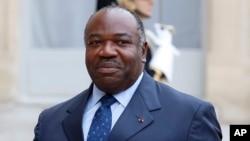 Le président gabonais Ali Bongo Ondimba, à l'Elysée à Paris, France, 10 novembre 2015.