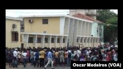 Protestos contra morte de taxista, São Tomé e Príncipe