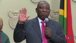 Ramaphosa nouveau président de l'Afrique du Sud (vidéo)