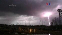 Tornados y tormentas eléctricas azotan EE.UU.