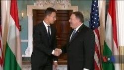 Помпео поговорив із головою МЗС Угорщини про необхідність негайно допомогти Україні. Відео