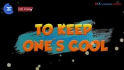 English in a Minute: To Keep One's Cool