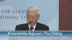 Ông Nguyễn Phú Trọng: Không nên để nhân quyền cản trở quan hệ Việt-Mỹ