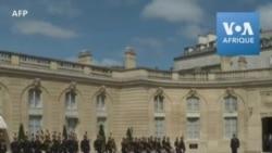 Arrivée du président sénégalais Macky Sall à Paris