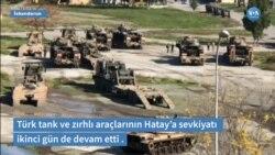 Türkiye'den Suriye sınırına tank ve zırhlı araç sevkiyatı sürüyor