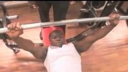 看天下: 加纳举重选手备战残奥会
