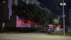 中國駐休斯頓總領館急速燒文件引發火警 中方稱美國要求三天內閉館