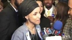BIDIYO: Ilham Omar Musulma Ta Farko 'Yar Asalin Kasar Somaliya Ta Lashe Zaben Takarar Kujerar Majalisar Dokokin Amurka