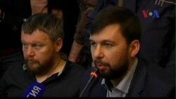 Phe vũ trang thân Nga ở Ukraine vẫn xúc tiến trưng cầu dân ý