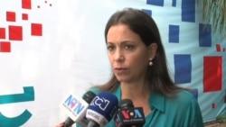 Maria Corina Machado y las sanciones