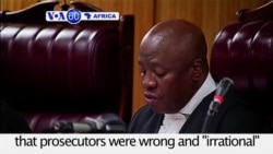 VOA60 Africa - S. African Court to Review Zuma Corruption Ruling