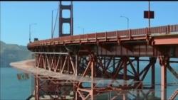 خود کشی کے لئے بدنام سان فرانسیسکو کا گولڈن گیٹ برج