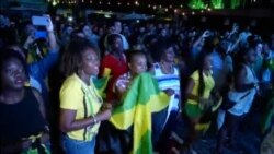 Hundreds Cheered As Jamaica Clinched Gold In The 400 Meter Men's Relay Sealed By Usain Bolt