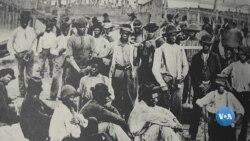 1619: Comércio de escravos dos EUA alimentou a ascensão económica da América