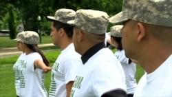 Sueñan con ser militares de EE.UU.