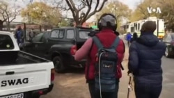 Police Arresting Protesters Outside Zimbabwe Embassy in South Africa