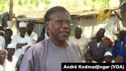 Mahamat Nour Ibédou Secrétaire général de la CTDDH à N'Djamena, le 7 mars 2019. (VOA/André Kodmadjingar)
