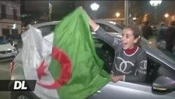 Wa-Algeria washerehekea baada Bouteflika atangaza hatogombea Urais tena