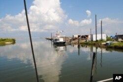 Caminada Bay, Louisiana