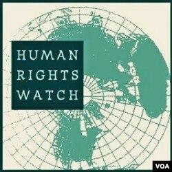 Pemerintah AS diduga mendapatkan tekanan dari beberapa LSM, termasuk Human Rights Watch.