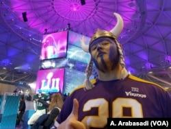 Drake Jackson, Vikings fan