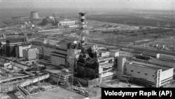 Nuklearna elektrana Černobil nakon eksplozije reaktora broj četiri, 26. aprila 1986.