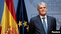 Alfonso Dastis, le Ministre des Affaires étrangères à Madrid, Espagne, le 4 novembre 2016.