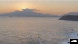 Остров Кунашир, Южные Курилы.
