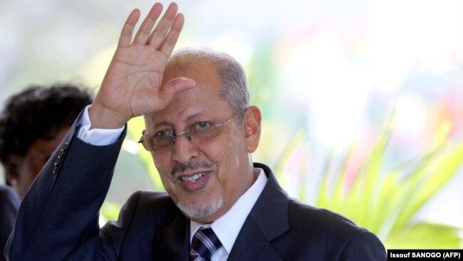 Perezida Sidi Mohamed Ould Cheikh Abdallahi