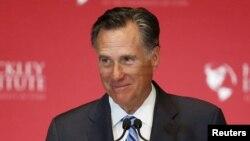 Mantan kandidat presiden Partai Republik tahun 2012,Mitt Romney (Foto: dok).