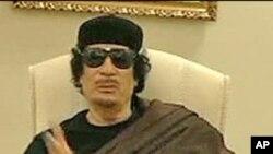 체포영장이 발부된 무아마르 가다피 (자료사진)