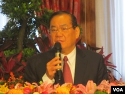 台灣總統府秘書長曾永權(美國之音張永泰拍攝)
