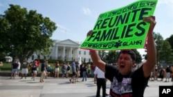 Protest pristalica imigracione refome