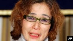 Junko Ishido mãe de Kenji Goto