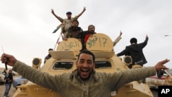 利比亞地面戰事持續。
