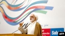伊朗司法部副部长埃杰耶(2017年3月14日)