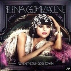 "Selena Gomez's ""When The Sun Goes Down"" CD"