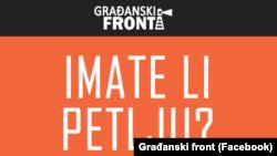 Zvanična prezentacija Građanski front iz Vlasotinca, Foto: Facebook
