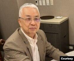 台湾政治大学国际关系研究中心学者汤绍成。(照片提供: 汤绍成)