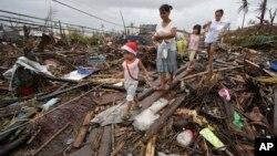菲律賓中部災區