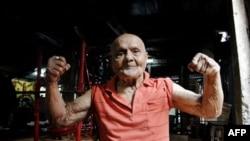 قديمی ترين قهرمان رشته پرورش اندام جهان يک صد ساله شد