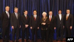 Представники політичних і ділових кіл Чикаго на зустрічі з президентом Ху Цзіньтао