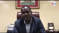Senatè Kedlaire Augustin fè konnen misyon l'OEA a rankontre yon delegasyon sena a