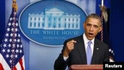 Presiden AS Barack Obama mengecam dugaan perlakuan buruk atas anggota veteran AS (21/5).