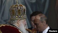 რუსეთის პატრიარქი და პრეზიდენტი ერთიანი ფრონტით