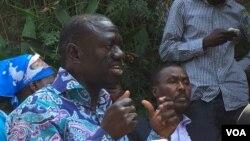 Dr. Kizza Besigye akizungumza na waandishi habari